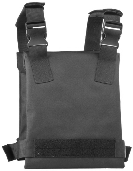 Covert Slick Rifle Plates Carrier  - Back