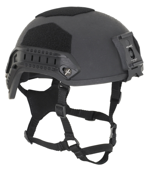 Gunfighter Kevlar Helmet with Rails and NV Mount