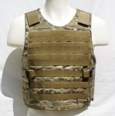 MOLLE Tactical Plate Carrier - Front