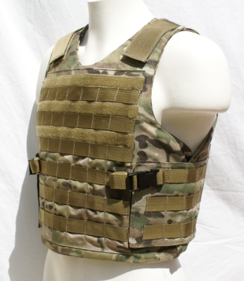 MOLLE Tactical Plate Carrier - Side