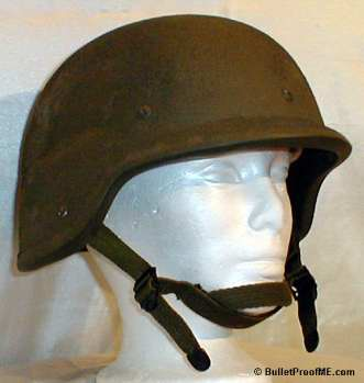 Military Surplus Kevlar Helmet - Side