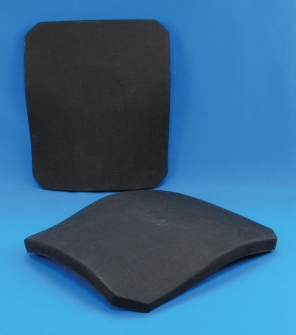 BulletProofME Body Armor - Level IV ( 4 ) Stand-Alone Ceramic Rifle Plates / SAPI : body armor ceramic plates - Pezcame.Com