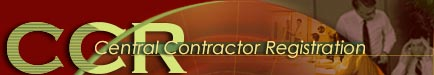 Central Contractor Registration Logo