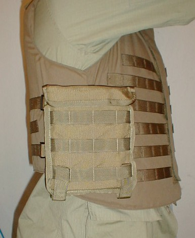 Side Rifle Plates  Pouch
