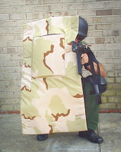 Tactical Ballistic Blanket  - Front View